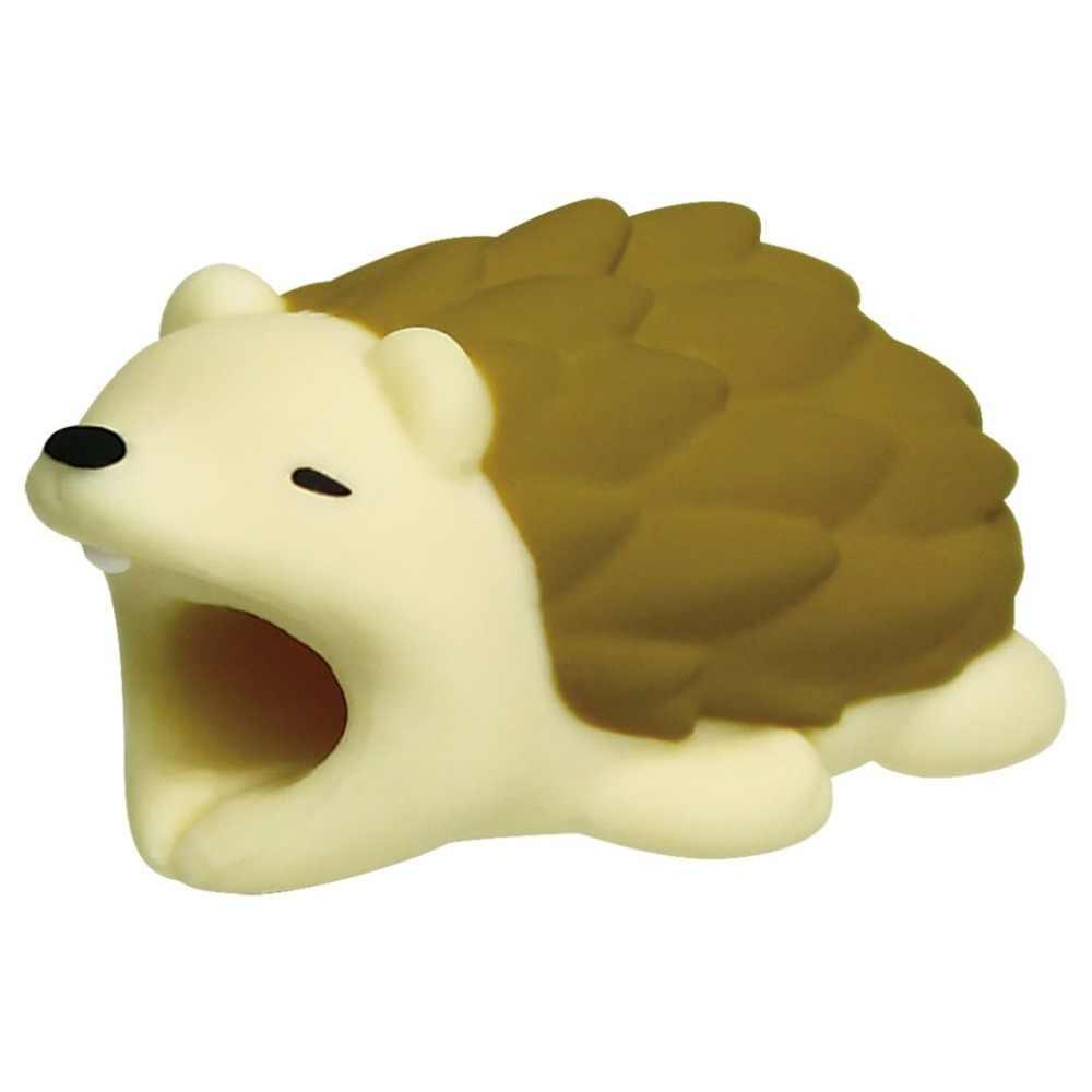 חמוד בעלי החיים קריקטורה אנטי שבירה מגן כיסוי עבור דמות USB כבל נתונים USB מטען כבל אוזניות כבל מגן שרוול