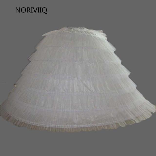 Con gradas Negro/Blanco 6 ARO Enagua de La Crinolina de Falda Slip Underskrit Para Niñas Blanco Slips Falda 02