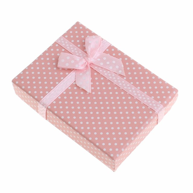 YYW 2017 New Fashion Paper Box 1pc White Color Spot Small Gift Boxes