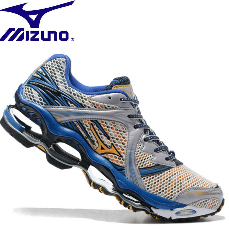 695e37ab MIZUNO WAVE Prophecy 1 professional Men Shoes Breathable Mesh running shoes  Outdoor Weightlifting Shoes 5 Color Size 40-45