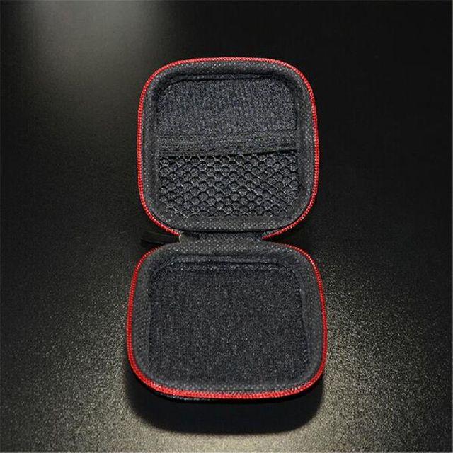 ISKYBOB Mini Zipper Earphone Headphone SD Card Bag Storage Box Key Wallet Coin Purses & Holders