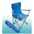 Portable foldable stainless steel chair with cup holder, fishing chair, outdoor chair, logo printing is available