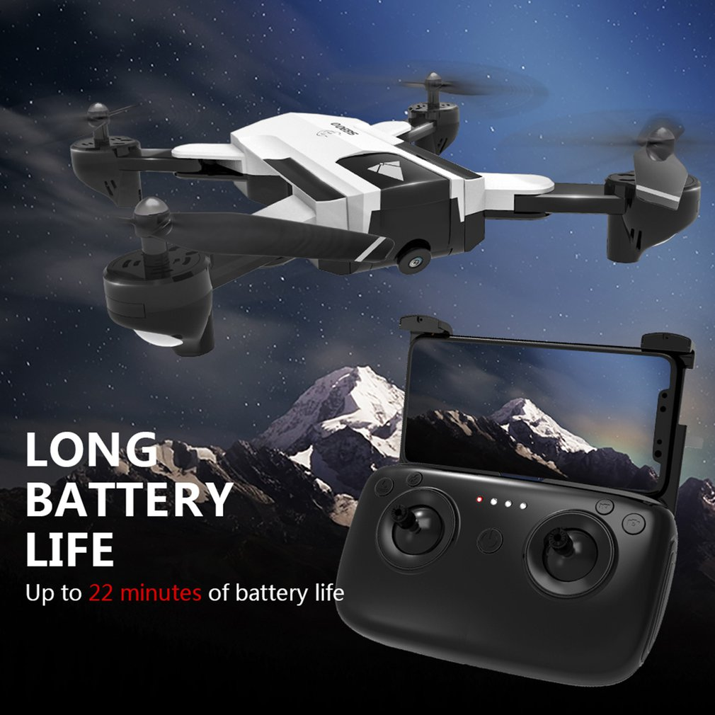 SG900 2.4G Foldable 720P FPV Optical Flow Positioning 22 Minutes Flying Gesture Photo/Video Image Sensing Follow RC Quadcopter(China)