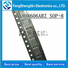 10pcs/lot  AD8606 AD8606ARZ  AD8606A SOP-8  Precision,Low Noise, CMOS, Rail-to-Rail, Input/Output Operational Amplifiers