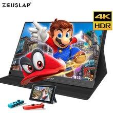 13.3 inch 4 K + HDR NTSC 72% Màn Hình IPS TYPE C HDMI Di Động Màn Hình cho Máy Xbox One PS4 Công Tắc Chơi Game màn hình
