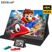 13.3inch 4K+HDR NTSC 72% IPS Screen TYPE C HDMI Portable Monitor for Xbox One PS4 Switch Gaming Monitor