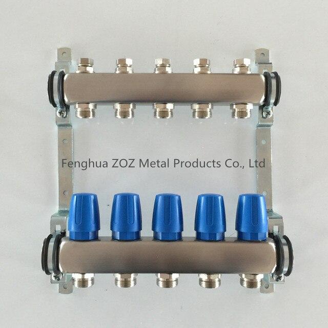 Circuits Radiant Floor Heating Manifold Floor Heating Systems - Types of in floor heating systems
