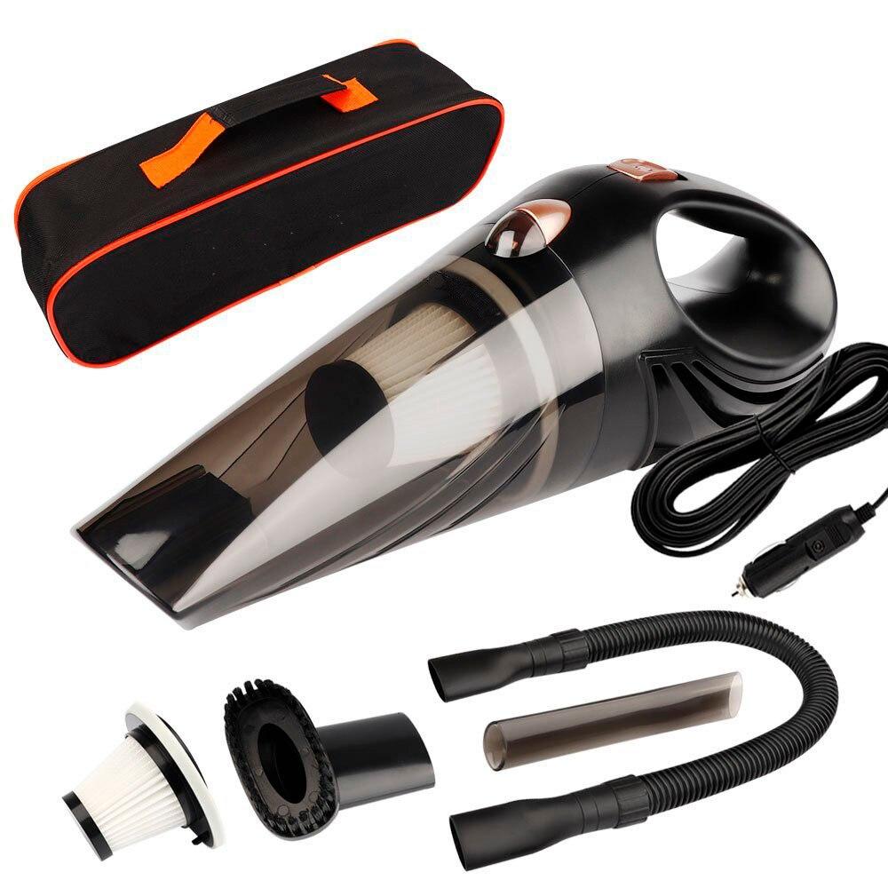 4800 pa Auto Staubsauger DC 12 Volt 120 watt mit Handtasche 4,8 KPA Zyklon Nass/Trocken Auto Tragbaren staubsauger Reiniger Staub