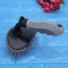 Car Tire Rim Cleaning Brush, Handle Wash Tool