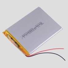 357090 3.7V 2500mAh Rechargeable Li-Polymer Li-ion Battery For Bluetooth Notebook computer Tablet PC cube U25GT PDA DVD 356989 цена 2017