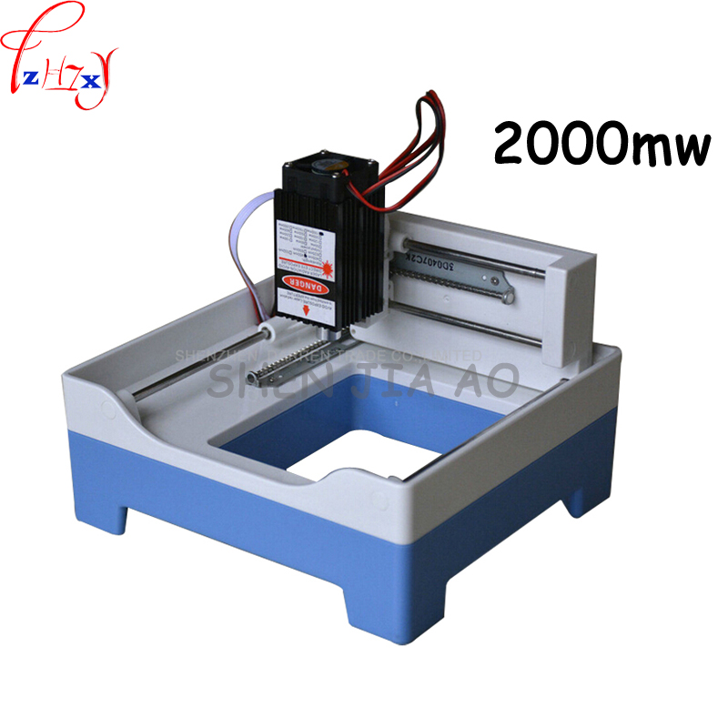 1pcs  USB Engraver mini Laser engraving machine DIY Laser Engraver 2000mw DIY engraving machine  цены