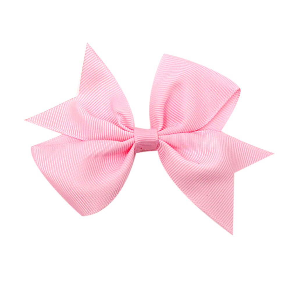 20pcs/set Colorful Baby Girls Hairband Ribbed Ribbon with Swallowtail Bow Hairpin Lovely Baby Hairwear Accessories Photo Props