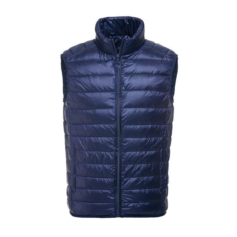 Brand 90% Duck Down Vest Ultra Light Duck Down Waistcoat  Sleeveless Jacket Autumn Winter Coat J0029