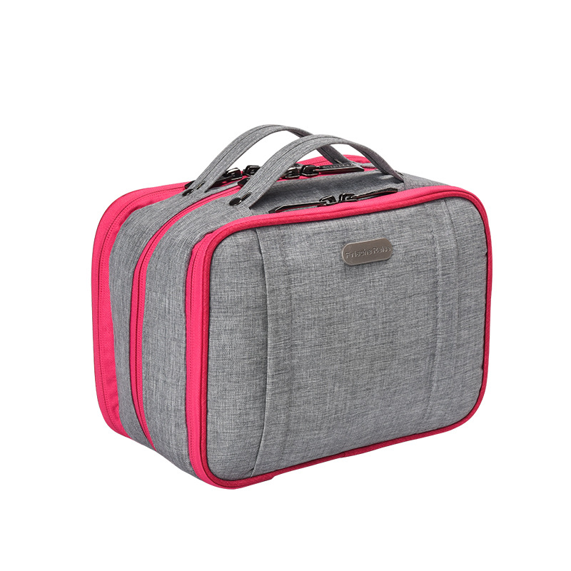Image 2 - Pullable Multifunction Storage Bag Simple Large Capacity Separable Travel Cosmetic Storage Bag Wardrobe Underwear Organizer-in Storage Bags from Home & Garden