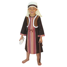 boys arab robe halloween cosplay costumes for children goatherd clothing shepherd costumes flockmaster cosplay arabian costume