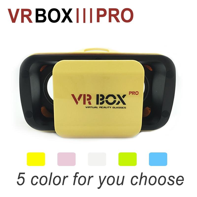 """<font><b>2016</b></font> Smart NEW <font><b>VR</b></font> <font><b>BOX</b></font> 3.0 PRO 3D Virtual Reality Glasses Headmount <font><b>VR</b></font> <font><b>Google</b></font> <font><b>Cardboard</b></font> 3D Game <font><b>Movie</b></font> for 4.5"""" - 5.5"""" Smart Phone"""