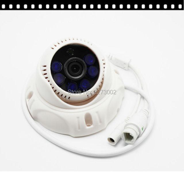 Câmera de 2MP IP 720 P Interior Full HD Dome 3.6mm Lente IR Cut P2P ONVIF Plástico Plástico Habitação CCTV sistema de câmera