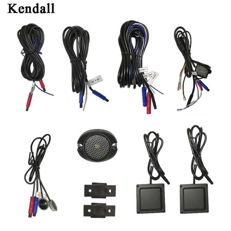 Car Blind Spot Monitoring BSD BSA BSM Radar Detection System Microwave Sensor Assistant Car Driving Security