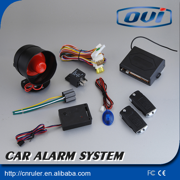 New Arrival Auto one way car alarm Keyless Entry With Remote Car Central Locking System With Rise Window Automaticly