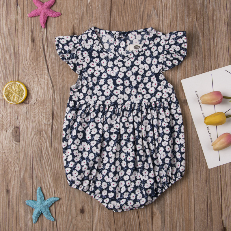 HTB1EP0wayfrK1RjSspbq6A4pFXaw Pudcoco Flower Newborn Baby Girl Rompers Summer Baby Girls Clothing Ruffles Rompers Jumpsuit Playsuit