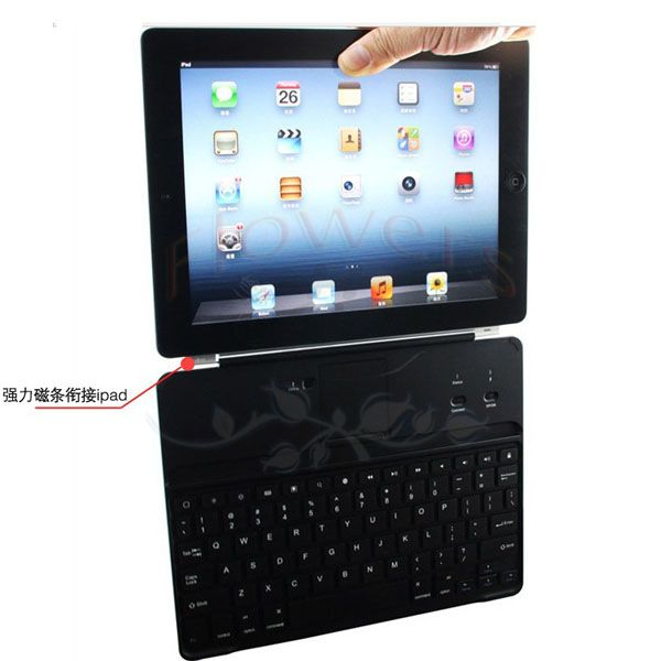 Support Wireless Bluetooth 3.0 Keyboard Silicon Stand Case Cover For Apple iPad 2 3 4 9.7 inch Tablet & pen aluminum alloy metal removable wireless bluetooth 3 0 keyboard stand leather case cover for apple ipad mini 1 2 3 7 9 inch table