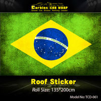 Flage Car Roof Vinyl Film For Mini Cooper Free Shipping