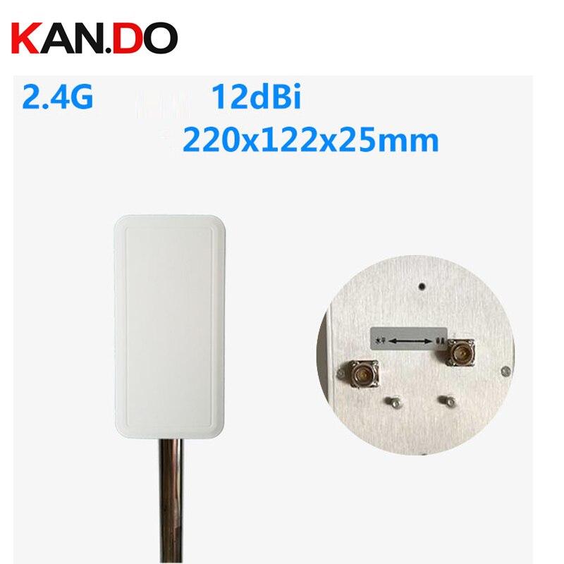 ISM 2.4G dual polariztion 12dbi N-K 2.4GHz wifi antenna 2.4G panel antenna wireless image transmission antenna 2400-2500mhz