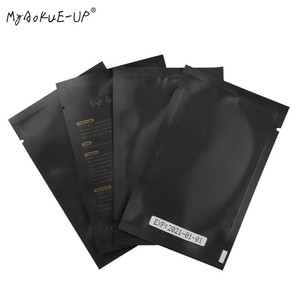 Image 5 - 1000 pairs Eyelashes Paper Patches Tips Sticker Wraps Under Eye Pads Black Package For Makeup Tools Eyelash Extension