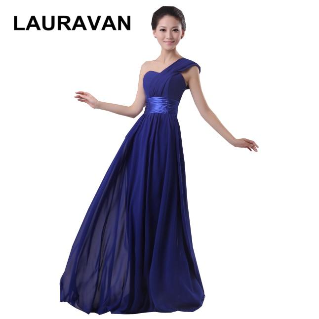 Light Blue Burgundy Red Hot Pink Chiffon Crimson Royal Blue Bridesmaid Gown Floor Line Long Bridesmaids Dresses Women Dress
