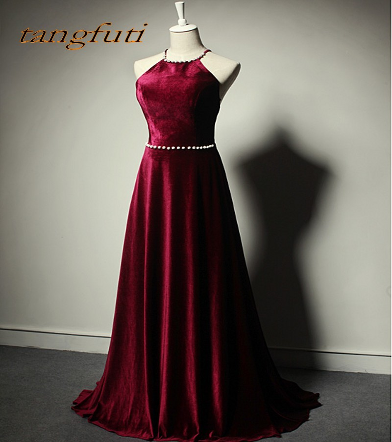 Burgundy Mother of the Bride Dresses Gowns for Weddings Party Sleeveless A Line Bridal Formal Godmother Groom Long Dresses 2018