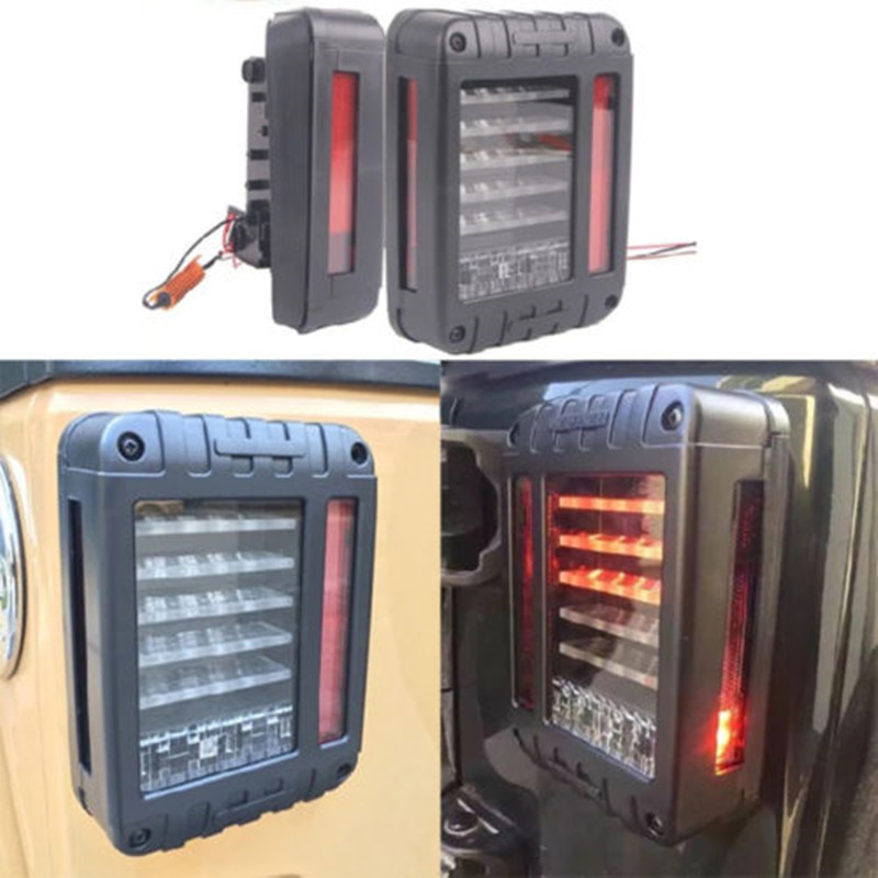LED taillight 33W LED Reverse Backup tail light 12V LED Running lights for Jeep Wrangler JK 07-16  auto Accessories 2pcs brand new high quality superb error free 5050 smd 360 degrees led backup reverse light bulbs t15 for jeep grand cherokee