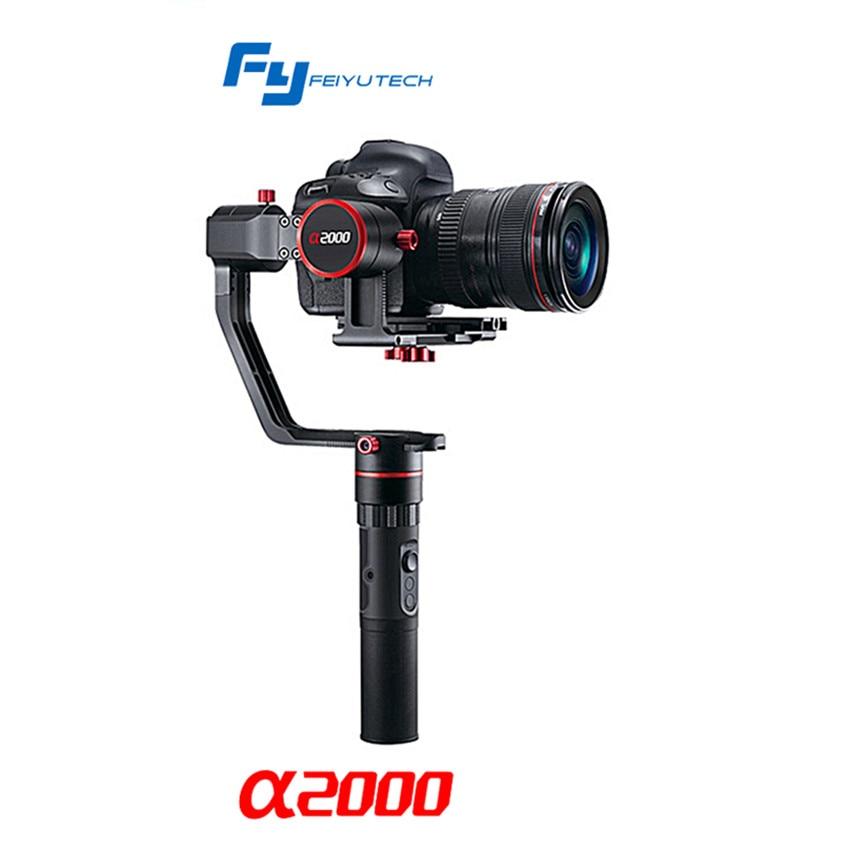 FY a2000 Alfa2000 DSLR Camera Gimbal Handheld Stabilizer for Canon 5D Mark III SONY Panasonic PK Zhiyu Crane V2 yuneec q500 typhoon quadcopter handheld cgo steadygrip gimbal black