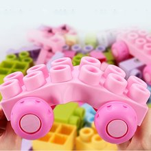 Baby Soft Rubber Building Blocks 6 Months 1-2-5 Years Old Early Education Can Bite Be Boiled Toys Wood