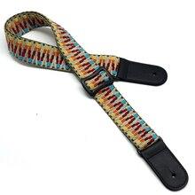 Ukulele Acoustic Guitar Straps 2016 Cartoon Style  Belts Upscale Durable Shoulder Strap Pure Cotton Print Belt Best Price