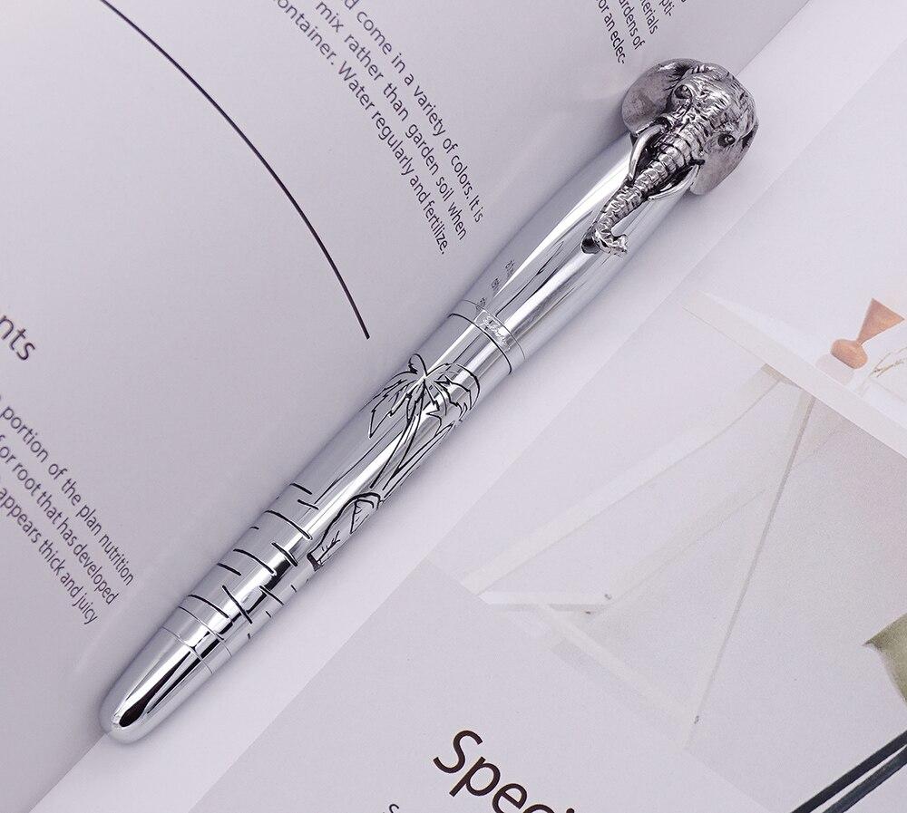 caneta de assinatura de prata delicada