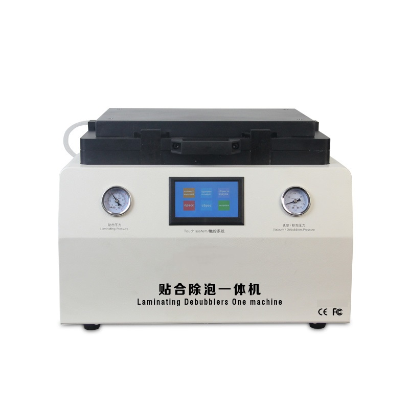 LY 858 Soft to Hard airbag type OCA laminator 15 inch with Sumsung EDGE moulds For Phone Tablet PC LCD Repairing