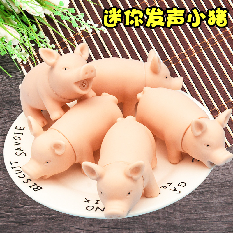 Купить с кэшбэком fun for kids joke toys animal pig stress cheap squish anti-stress toys pig antistress chancery cute prank toy soft pig in pocket