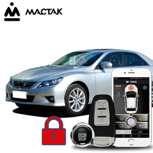 MACTAK REIZ 2010  car accessories Keyless Entry Comfort System PKE Phone APP Remote Start Car Engine Alarm Push 963
