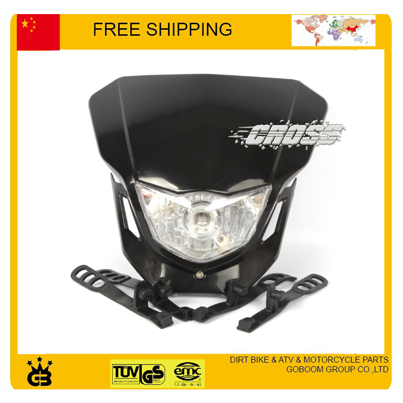 X2 T4 T8 CQR GY KTM kepala sepeda motor lampu kepala dipimpin topeng - Lampu mobil - Foto 3