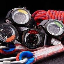 SINOBI New Chronograph Watch Male Military Wristwatch Waterproof Quartzwristwatches Clock F1 Sports Men's Relogio Masculino
