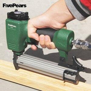 Image 5 - FivePears Air Nailer Gun Straight Nail Gun Pneumatic Nailing Stapler Furniture Wire Stapler F30