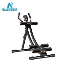 ALBREDA Verstelbare Abdominale Machine Sport Gym Apparatuur hometrainer buikspieren Fitness Oefening Dunne taille