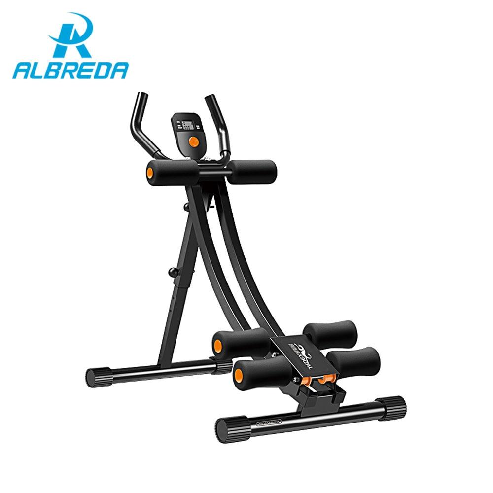 ALBREDA Réglable Abdominale Machine de Sport matériel de sport home trainer muscles abdominaux Exercice Fitness Mince taille
