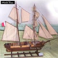 Деревянный корабль модели Наборы DIY хобби поезд 3d лазерная резка модель лодки деревянной Весы модель 1/55 развивающие игрушки модель дерева с