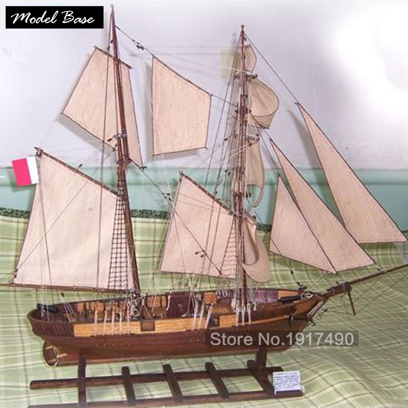 Holzschiff Modelle Kits Diy Zug Hobby 3d Laser Cut Model boote Holz...