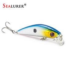 Sealurer Brand Lifelike Minnow Fishing Lure 7CM 8.5G 6# Hooks Fish Wobbler Tackle Crankbait Artificial Japan Hard Bait Swimbait