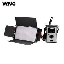 Portable GK-60B Ultra-thin 60W LED Studio Video Light Lamp 2.4G Remote Control Bi-color for Studio Photography and TV