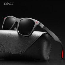 Classic Sunglasses Men Polarized glassses mens Driving Square Frame Sun Glasses Male Goggle Gafas De Sol TR90 dark sunglasses