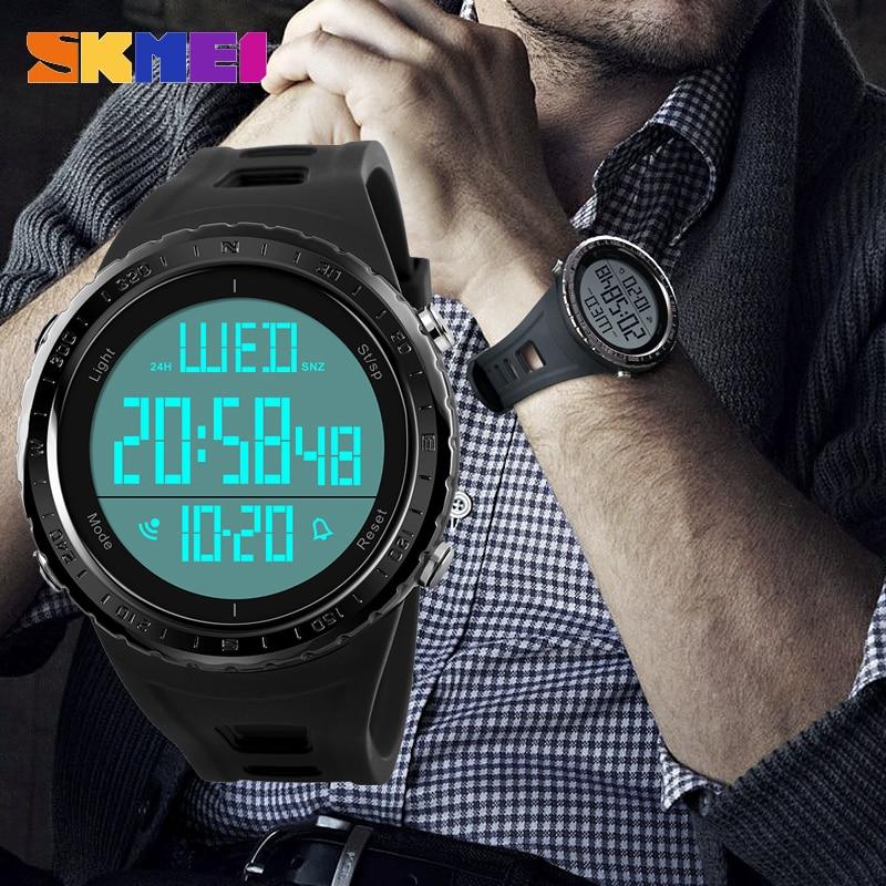 SKMEI Digitaluhr Männer Wasserdichte Uhr männer Armbanduhr Herrenuhren Top-marke Luxus Uhr Montre Homme Männlichen Uhr 2018