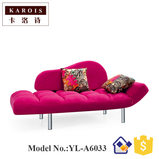 US $683.0  A6033 Living room modern minimalist chaise sofa bed collapsible  multi purpose den balcony sofa bed-in Living Room Sofas from Furniture on  ...